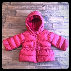 Other - Baby Gap Red Bow Puffer Coat (18-24 months)